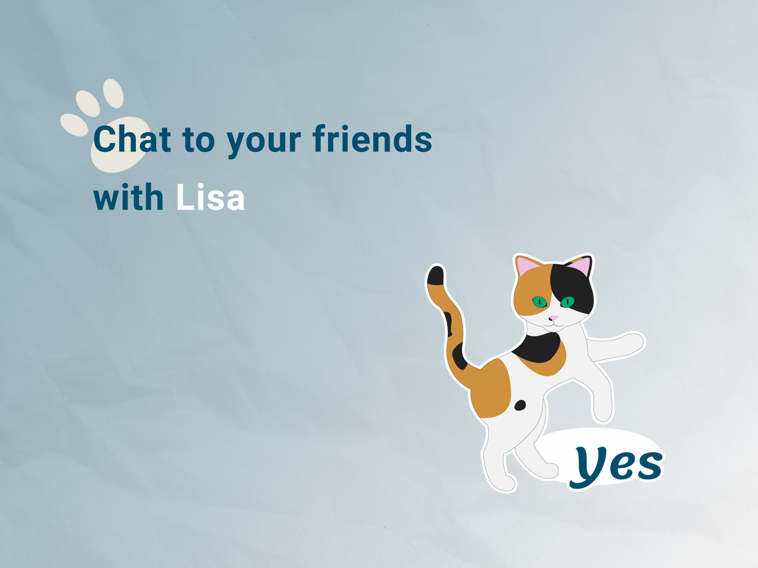 Lisa the Calico Cat